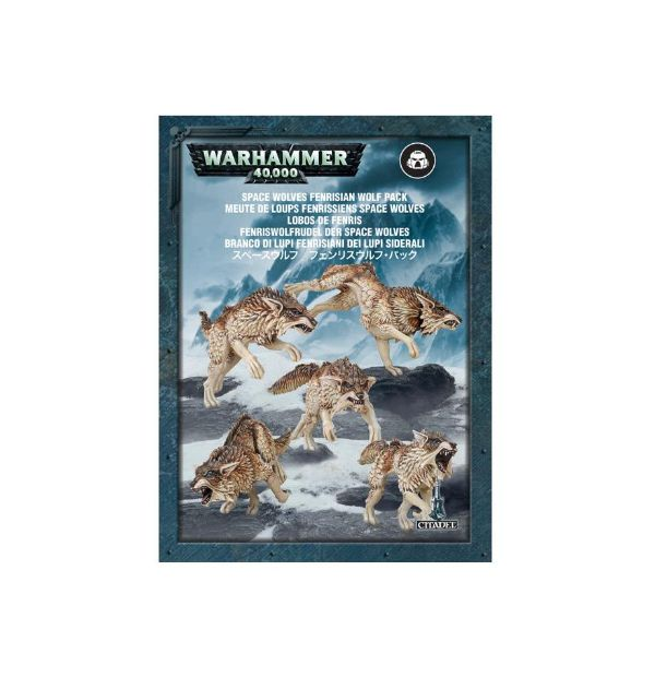 Warhammer 40,000 Space Wolves Fenrisian Wolf Pack by Games Workshop GAW 53-10