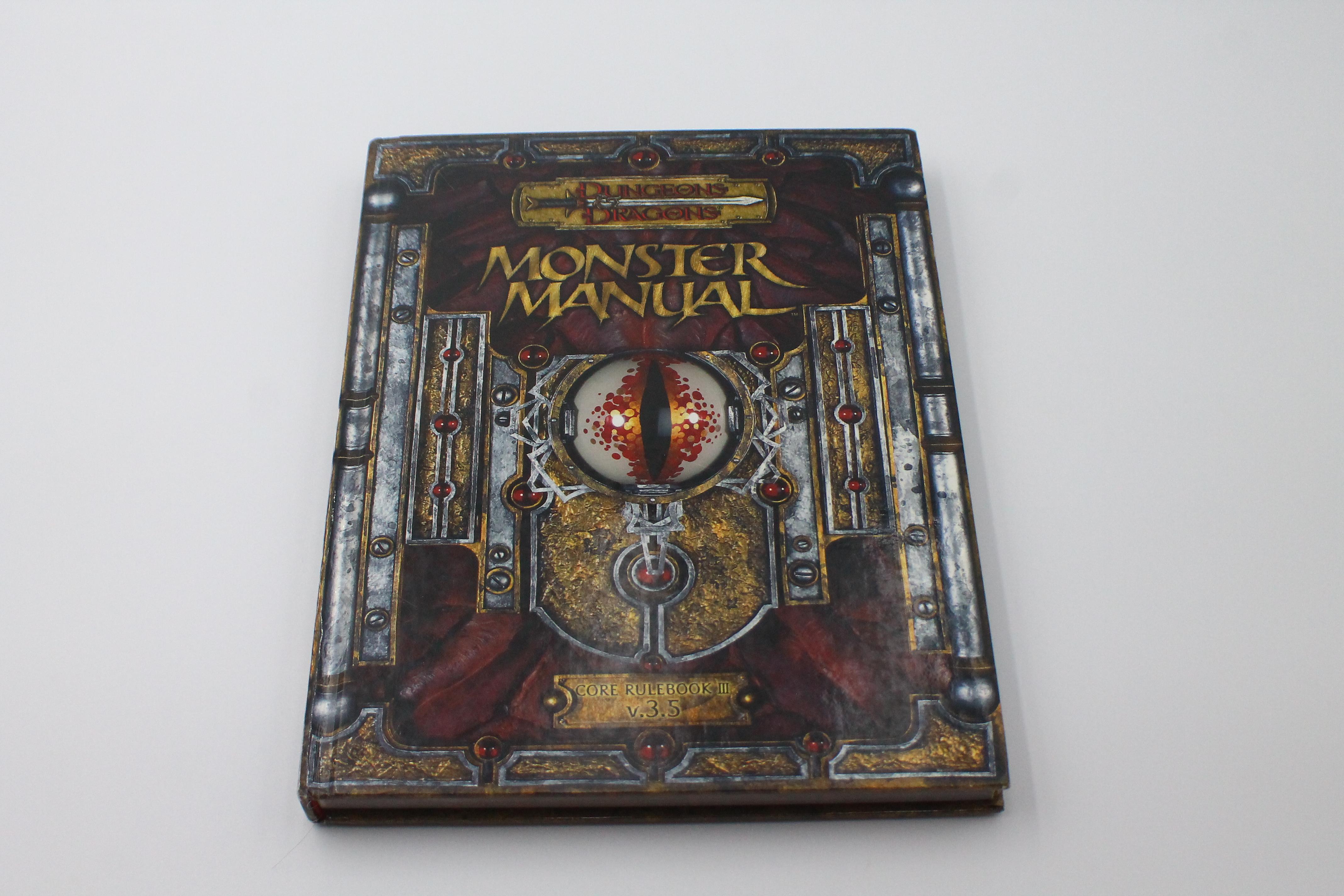 Used Monster Manual I (3.5) (U-B7S3 288216)
