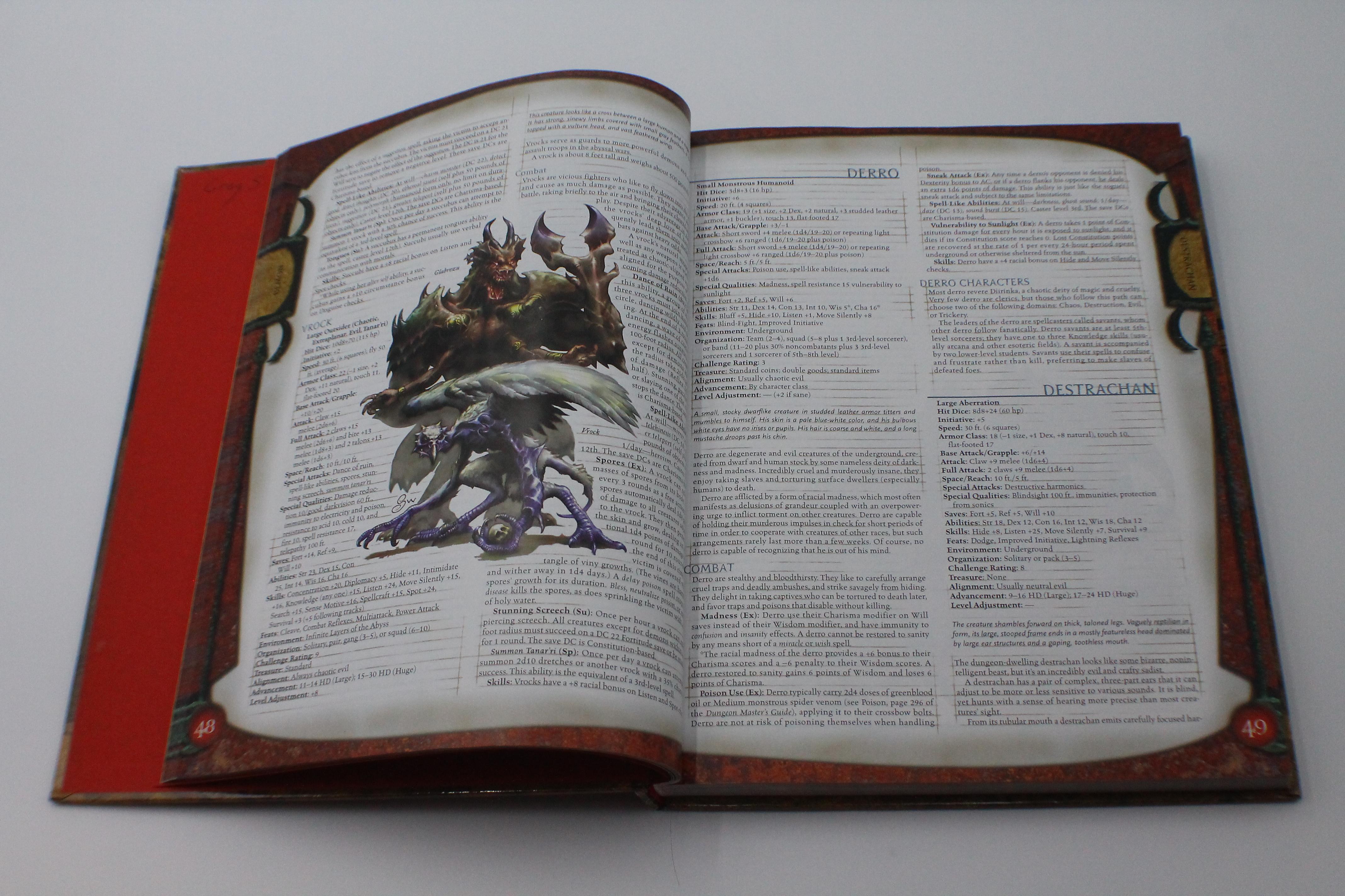 thumbnail 3 - Used Monster Manual I (3.5) (U-B7S3 288216)